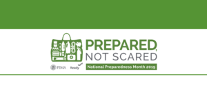 National Preparedness Month is September